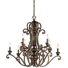 Mithras 9 Light Chandelier