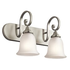 <strong>Kichler</strong> Monroe 2 Light Bath Vanity Light
