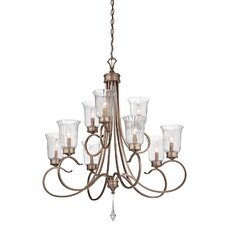 <strong>Kichler</strong> Malina 9 Light Chandelier