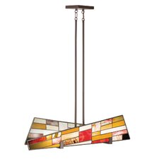 Shindy 4 Light Chandelier Linear
