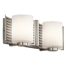 <strong>Kichler</strong> Selene 2 Light Bath Vanity Light