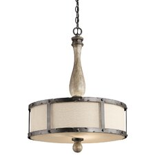 Evan 3 Light Pendant