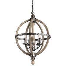 Evan 3 Light Chandelier