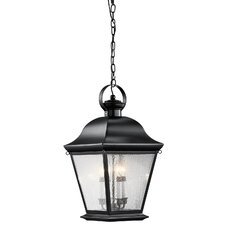 <strong>Kichler</strong> Mount Vernon 4 Light Outdoor Hanging Pendant