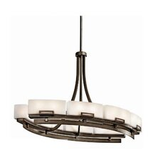<strong>Kichler</strong> Leeds 12 Light Oval Chandelier