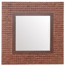 "<strong>Jeffan</strong> New Hampton 36"" H x 36"" W Square Mirror"