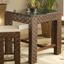 Pura Bar Table in Dark Brown
