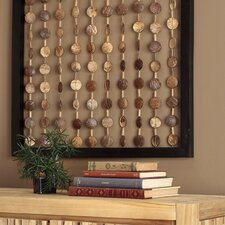 Coconut Hanging Deco Wall Panel