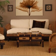 <strong>Jeffan</strong> Tropical Abaca Small Astor Sofa