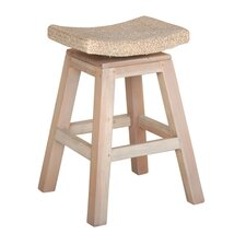 "<strong>Jeffan</strong> Sanibel 18"" Swivel Bar Stool"