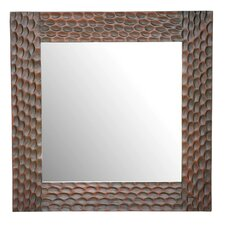 "FT Davis 39"" H x 39"" W Square Mirror"