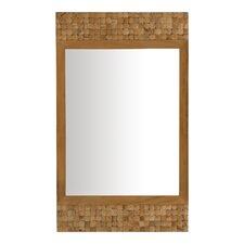 "<strong>Jeffan</strong> New Hampton 47"" H x 28"" W Rectangle Mirror"