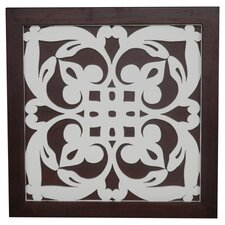 Ratu Modern Fretwork Design 2 Wall Graphic Art on Plaque