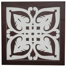 Ratu Modern Fretwork Design 3 Wall Graphic Art on Plaque