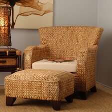 <strong>Jeffan</strong> Havanna Club Chair and Ottoman