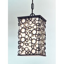 Aqua 1 Light Hanging Lantern