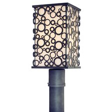 Aqua 1 Light Post Lantern