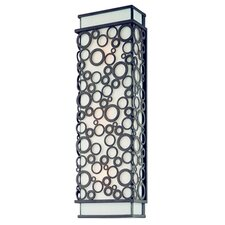 Aqua Exterior 3 Light Wall Sconce