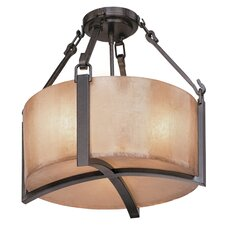 Austin 3 Light Semi Flush Mount