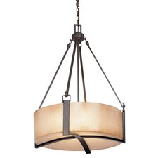 Austin 4 Light Drum Foyer Pendant