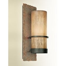 Bamboo 1 Light Wall Scone