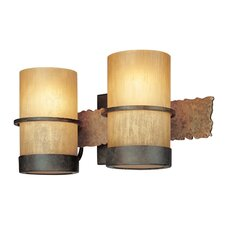 Bamboo 2 Light Vanity Light