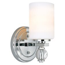 <strong>Troy Lighting</strong> Bentley 1 Light Bath Wall Sconce