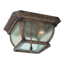 Biscayne 2 Light Flush Mount