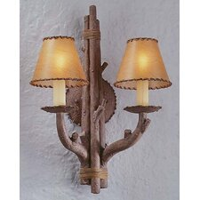 Cheyenne 2 Light Wall Sconce