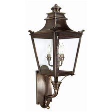 <strong>Troy Lighting</strong> Dorchester 3 Light Wall Lantern