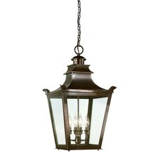 <strong>Troy Lighting</strong> Dorchester 4 Light Hanging Lantern