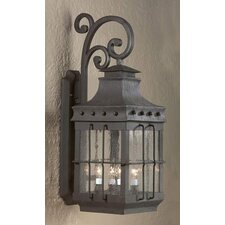 <strong>Troy Lighting</strong> Dover 4 Light Wall Lantern