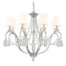 Fountainbleau 8 Light Chandelier