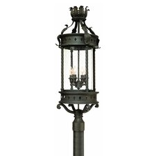 "<strong>Troy Lighting</strong> Los Feliz 4 Light 13.5"" Post Lantern"