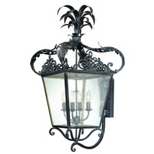 Portola 4 Light Wall Lantern