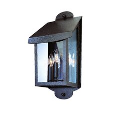 Alpine 3 Light Outdoor Wall Lantern