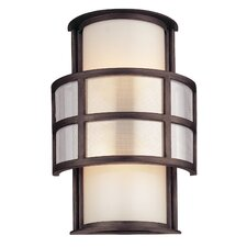 Discus 2 Light Outdoor Wall Lantern