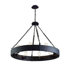 <strong>Troy Lighting</strong> Jackson 8 Light Large Pendant