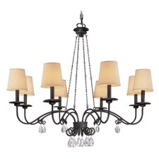 La Rochelle 8 Light  Chandelier