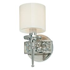 <strong>Troy Lighting</strong> Collins 1 Light Bath Wall Sconce