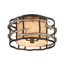 Adirondack 4 Light Semi-Flush Mount
