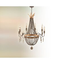 <strong>Troy Lighting</strong> Delacroix 10 Light Chandelier