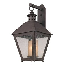 <strong>Troy Lighting</strong> Sagamore 1 Light Outdoor Wall Light
