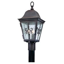Markham 3 Light Outdoor Post Lantern