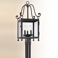 Mill Valley 3 Light Outdoor Post Lantern