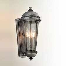 <strong>Troy Lighting</strong> Ambassador 3 Light Outdoor Wall Light