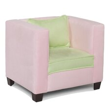 Kid's Modern Chair in Pink and Lime
