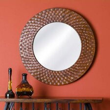 Saddler Round Mirror