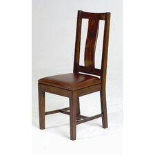 <strong>William Sheppee</strong> Saddler Wood Back Side Chair