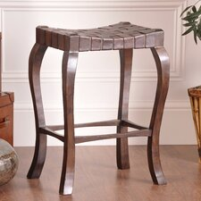 "Binks 30"" Bar Stool in Walnut Stain"